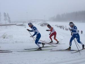 Elina och Mimmi sida vid sida i semifinalen